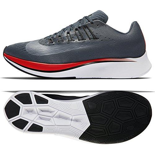 Nike Zoom Fly 880848-400 Blue Fox/Black/Bright Crimson Men's Running Shoes (13)