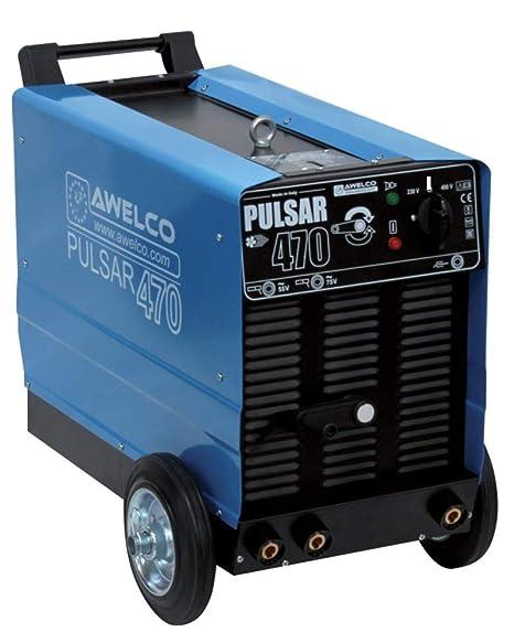 Soldadura de electrodos MMA Awelco Pulsar 370 230/400 V