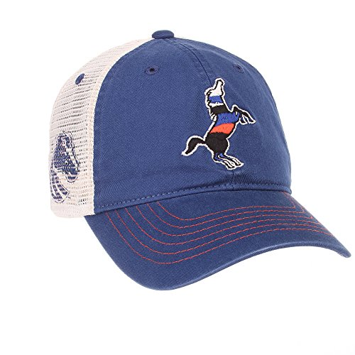 Elite Fan Shop Boise State Broncos Trucker Hat - Adjustable - Blue - Broncos Boise Hats State