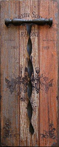 Metal Decorative Corkscrew Piece Inches