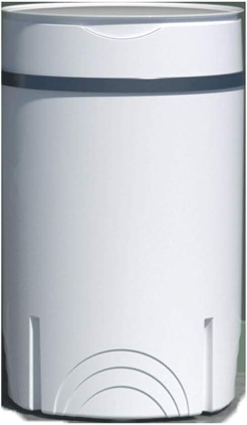 Mini Lavadora Lavadora portátil La lavandería La lavadora alternativa con la función de purificación de rayos azules la lavadora de ropa portátil con el cubo de deshidratado para la ropa pequeña y dis