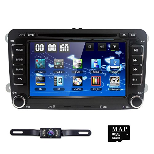 7 inch Digital Touch Screen Car Radio 2Din Stereo in Dash for Passat Polo...