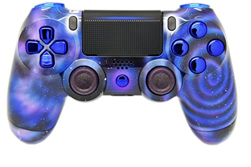 Galaxy PS4 Custom Controller / HAND AIR-BRUSHED / UN-MODDED