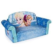 Marshmallow Furniture, Children's 2 in 1 Flip Open Foam Sofa, Disney Frozen, by Spin Master