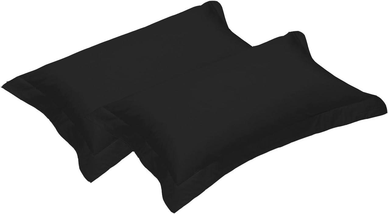 1000 Thread Count Luxury 100/% Egyptian Satin Cotton Oxford Edge Pillowcase