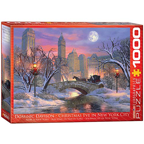 EuroGraphics Christmas Eve in New York City Puzzle (1000 Piece)