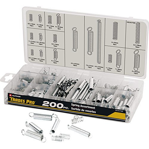 - Tradespro 835798 Spring Assortment, 200-Piece