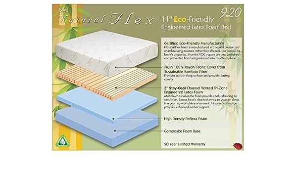 Amazon Com Boyd Specialty Sleep Natural Flex 920 Engineered Latex