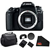 Canon EOS 77D DSLR Camera (Body Only) 24.2 MP CMOS - Essential Bundle - International Version (No warranty)