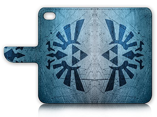 ( For iPhone 8 / iphone 7 ) Flip Wallet Case Cover & Screen Protector Bundle - A21402 Legend of Zelda Sign by Pinky Beauty Australia (Image #1)