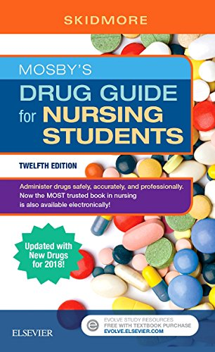 Mosby's Drug Guide for Nursing Students with 2020 Update