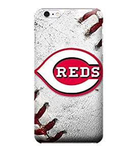 iPhone 6 Plus Case, MLB - Cincinnati Reds Game Ball - Cincinnati Reds - iPhone 6 Plus Case - High Quality PC Case