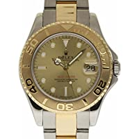 Rolex Yacht-Master Swiss-Automatic Male Watch 168623 (Certified Pre-Owned)