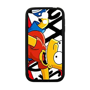 Warm-Dog Simpsons movie Case Cover For samsung galaxy S4 Case