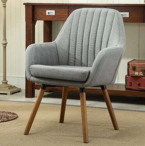 Amazon.com: Hebel Tuchico Contemporary Fabric Accent Chair ...