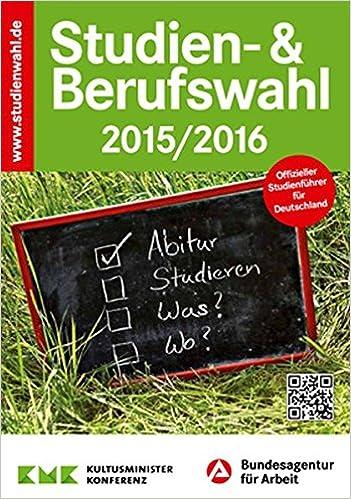 STUDIEN UND BERUFSWAHL 2016 EBOOK