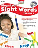Sing and Learn Sight Words, vol. 4 (Book with Audio CD) (Sing & Learn Sight Words)
