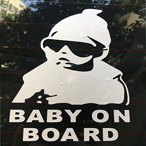 GOTRUP Baby on Board Hangover Carlos Vinyl Decal Sticker Fun