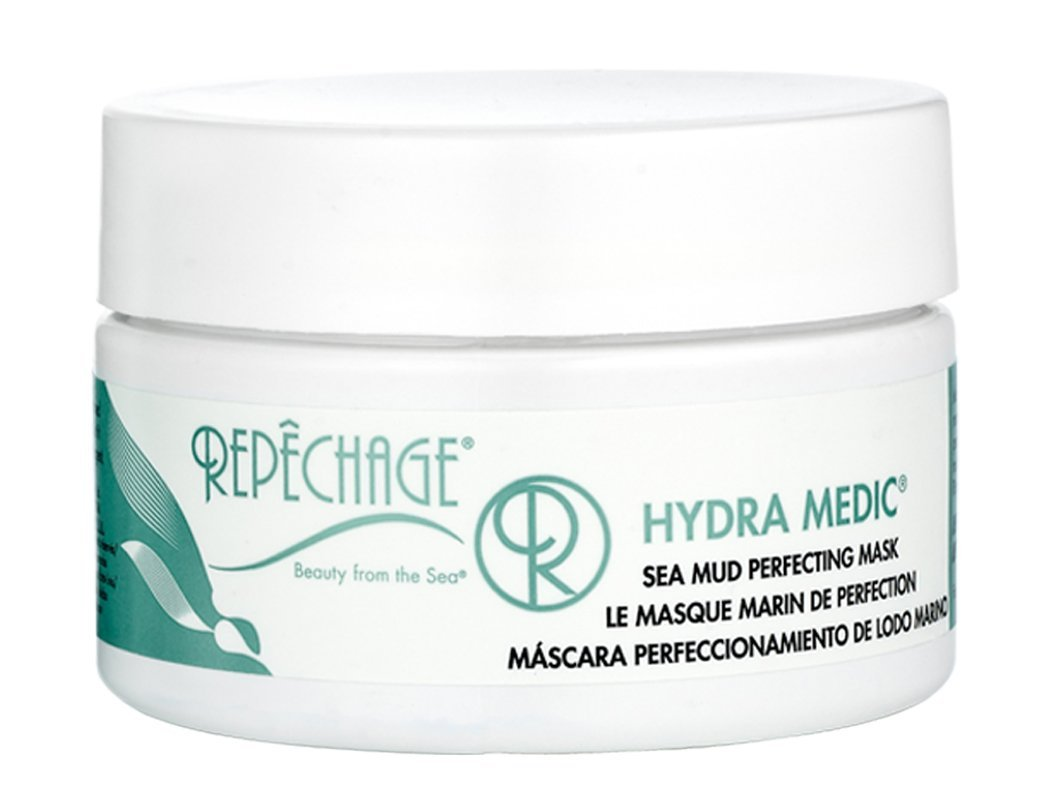 Repechage Sea Mud Perfecting Mask Pore Cleansing Facial Treatment for Oily and Blemish Prone Skin, 4 fl. oz.