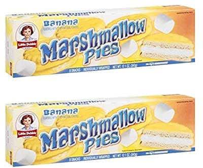 Little Debbie Banana Marshmallow Pies (2 Pack)