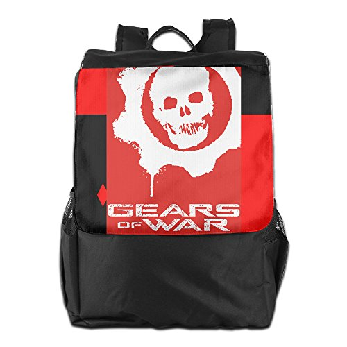 HOT TOPICS Unisex Gears Of War Travel Rucksack Travel Backpack Daypack Knapsack