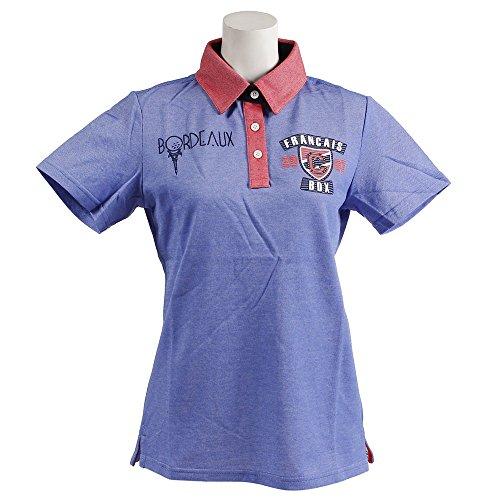 半袖ポロシャツ レディース クランク CLUNK 日本正規品 2018 春夏 ゴルフウェア L(L) ネイビー(NVY) mc8s-lcw