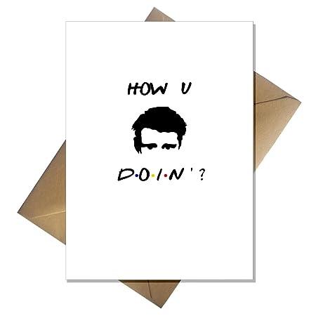 Joeys Karte.Joey Von Freunden Tv Zeigen Karte Wie Sie Sie Geburtstag