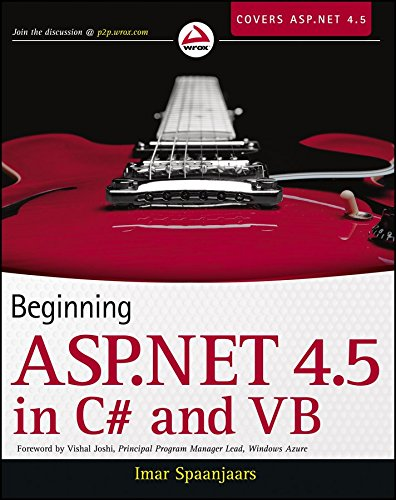 [(Beginning ASP.NET 4.5: in C# and VB)] [By (author) Imar Spaanjaars] published on (November, 2012)