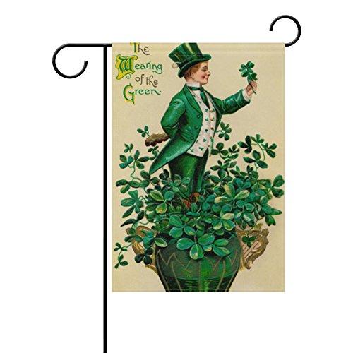 Cooper girl Vintage St. Patrick's Day Greeting Card Garden F