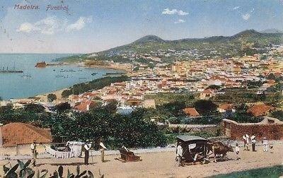 - G0042 Madeira, Funchal View Postcard