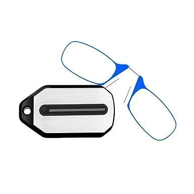 GEMSeven Mini Gafas De Lectura De Nariz Con Clip Plegable ...