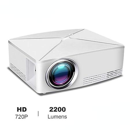ZDZHU Mini proyector, proyector de vídeo portátil DLP con ...