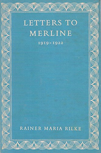 Letters to Merline, 1919-1922