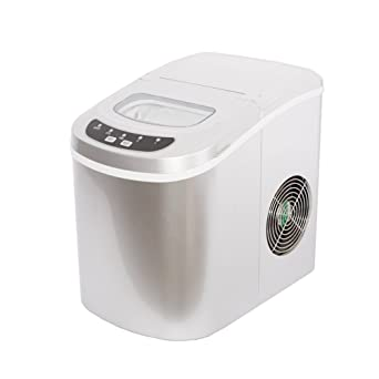SMETA Portable Compact Ice Maker Machine Counter Top best ice maker machine