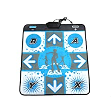 Cewaal Non Slip DDR Dance Mat Dancing Pad Cushion Stage For Nintendo Wii GameCube NGC