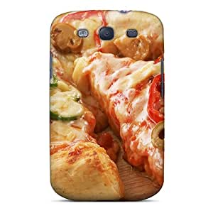 TWAmkYI3216hYffD Tpu Phone Case With Fashionable Look For Galaxy S3 - Pizza Food