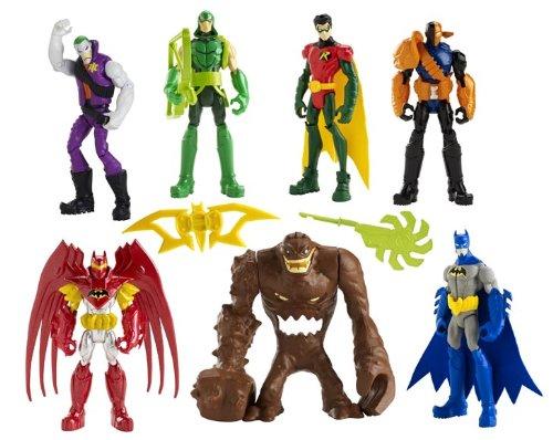 - Batman Gotham City Showdown Figure 7-Pack