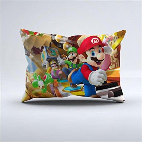 Damuyas New Super Mario Bros Nintendo Games Luigi Bed Pil...