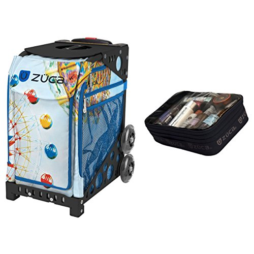 Zuca Vertigo Sport Insert Bag & Black Frame + Gift Utility Pouch by ZUCA