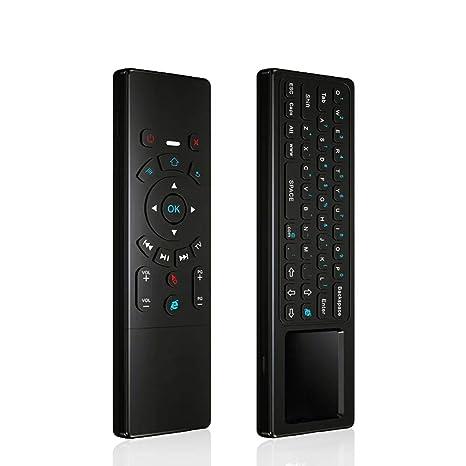 KingLeChange T6 Air Mouse 2.4GHz Mini teclado inalámbrico con control remoto táctil para Android TV