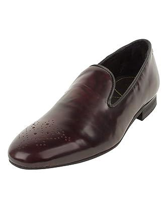 H by Hudson Herren Hallo Glanz Flotte Schuhe Lila