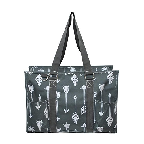 N Gil All Purpose Organizer Medium Utility Tote Bag 3 (Arrow - Top Zip Tote