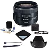 Canon EF 35mm f/2 IS USM Lens Bundle, USA. #5178B002 Value Kit with Accessories