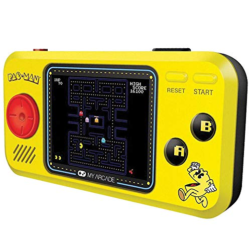 Jack Johnson Players - Johnson Smith Co. - DREAMGEAR Pac Man Pocket Player - Handheld w/ 2.75