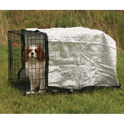 ProSelect Solar Crate Canopies - Protective Coverings for Dog Crates
