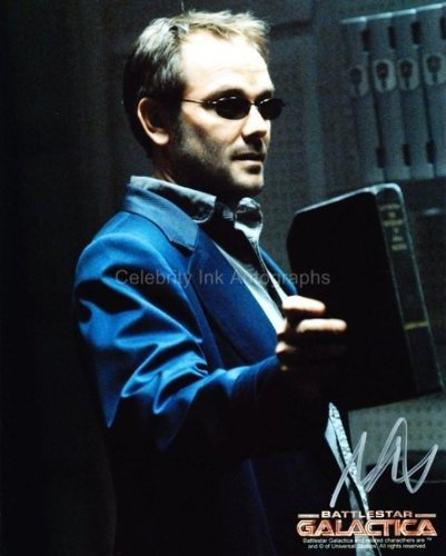 MARK SHEPPARD as Romo Lampkin - Battlestar Galactica Genuine Autograph from Celebrity Ink