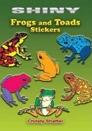 Stars Five Shiny - Shiny Frogs and Toads Stickers (Dover Little Activity Books Stickers)