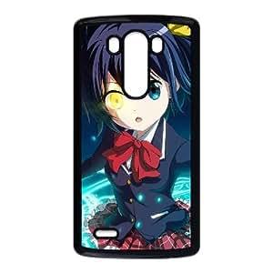 caja del teléfono celular LG G3 funda Negro chunibyo amor y otros delirios T4N3YL