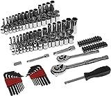 AmazonBasics Mechanics Socket Set | 123-Piece