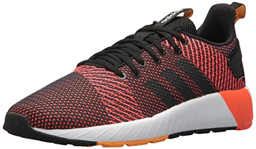 - adidas Men's Questar BYD Running Shoe, Black/White/Solar red, 13 M US